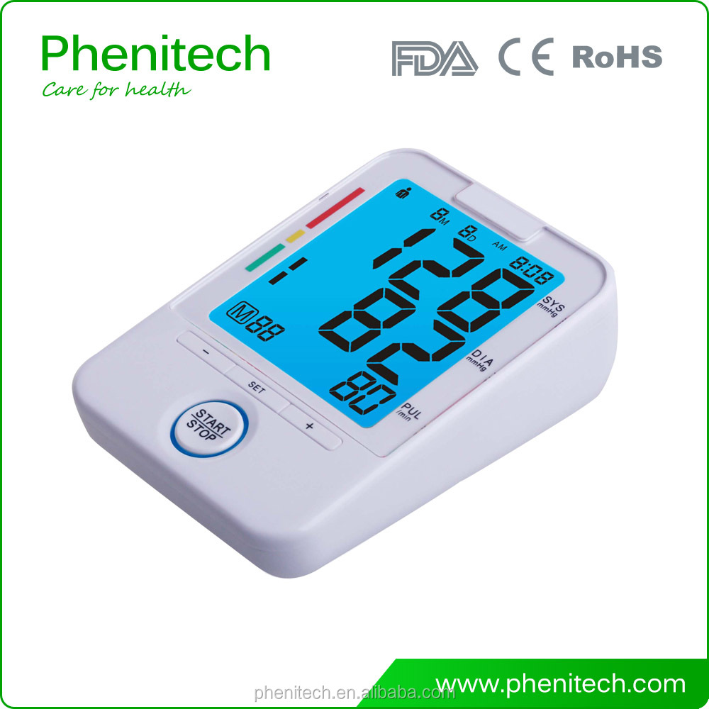 2017 FDA FCC approval Medical bluetooth 4.0 digital arm blood pressure meter digital blood pressure monitor
