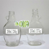 255ml and 260ml Clear Syrup Glass Bottle With Handle