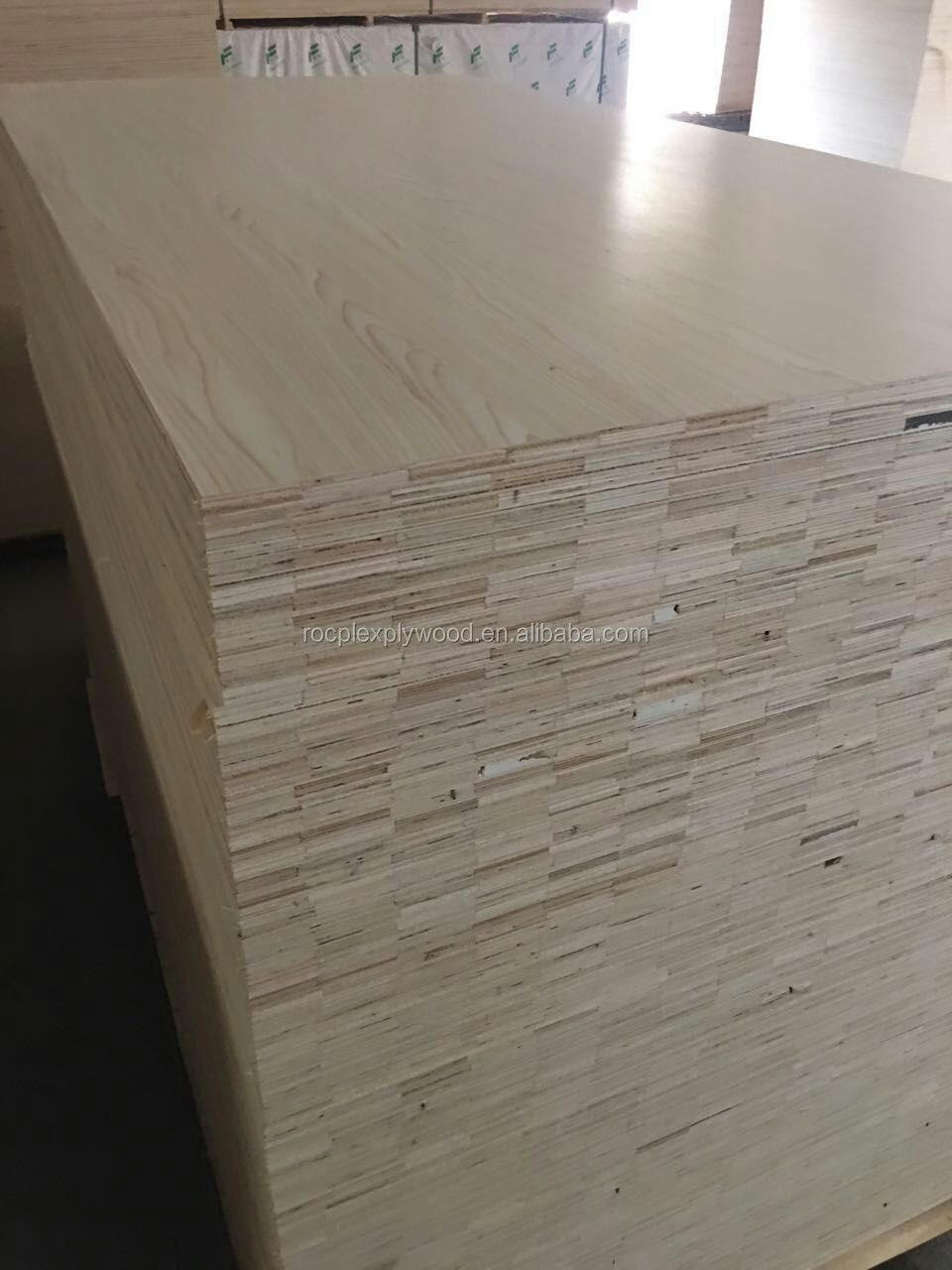Paper Faced Plywood ~ Mm wood grain melamine paper faced plywood for