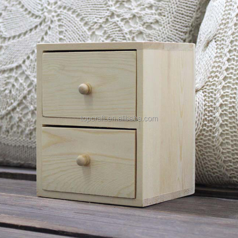 2015 Design Your Own Mini Wood Chest 3 Drawers Jewelry Box For ...
