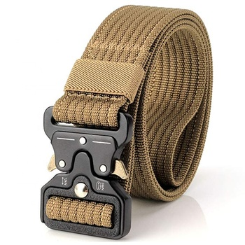 Tactical Belt Cobra 1 5 Inch Waist Belt Adjustable Military Style Nylon  Webbing Rigger Belt With Quick-release Gear Clip Metal - Buy Tactical Belt