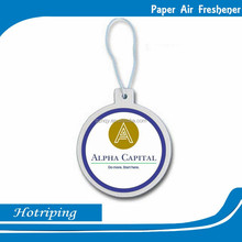 newest fashion best air freshener for car eco-friendly hemp air freshener paper