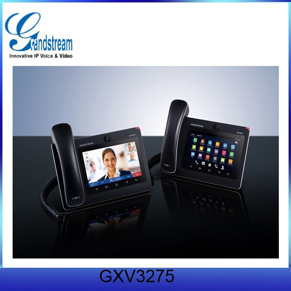 HD Android Intelligent Very Cheap Android Voip Video Phones GXV3275