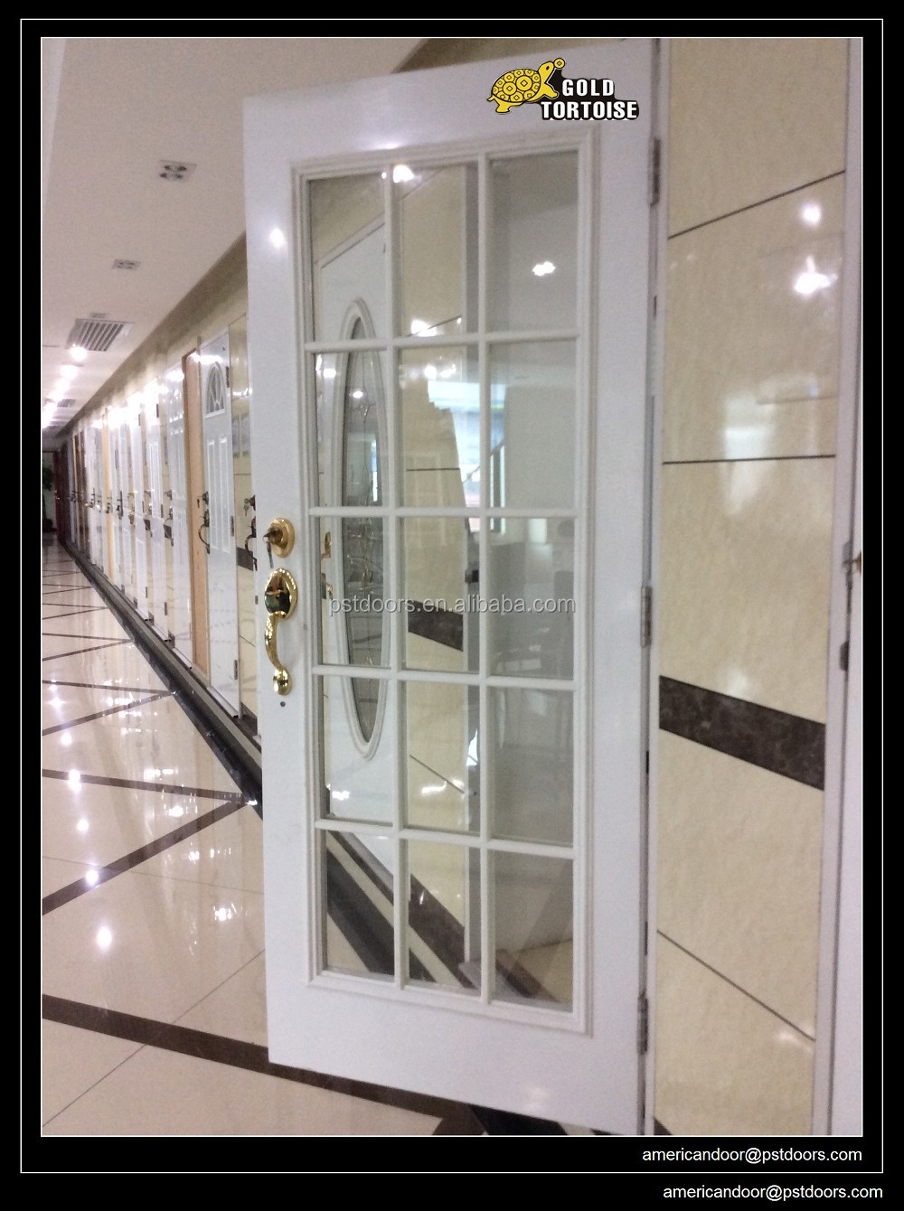 Full Lite Steel Glass Doors Entry Doors Commercial Doors Fire Rated Doors