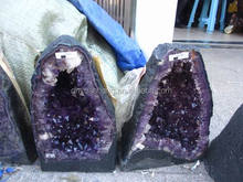 Wholesale grape raw amethyst geode ,charming amethyst geode cluster/slice ,amethyst crystal mineral specimens