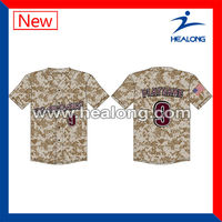 custom digital camo baseball jerseys wholesale fashion baseball shirt