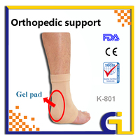 2016 High Quality Health Care Product Gel Ankle Support Stocking