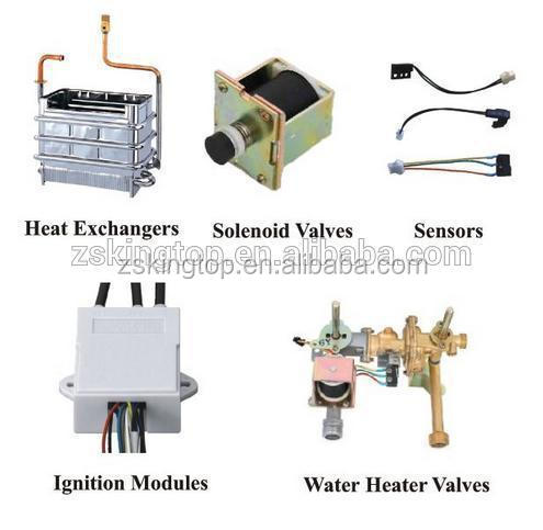 China cheap wholesale gas hot water heater spare parts /CKD/SKD