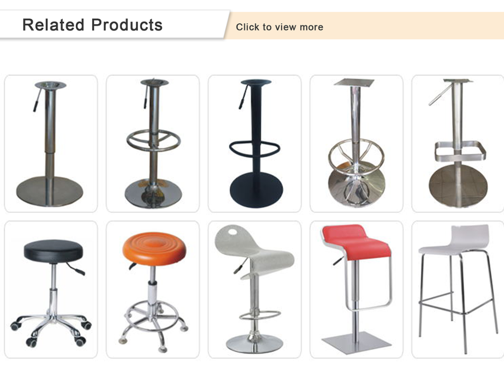 Fantian new design adjustable bar stools wholesale leg parts accessories for sale