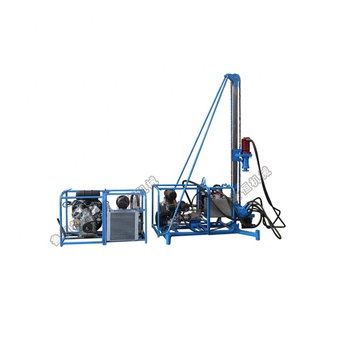 simple operate mini water well rig rock drilling machine for sale