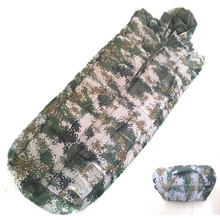 Militaire camouflage camping <span class=keywords><strong>slaapzak</strong></span>