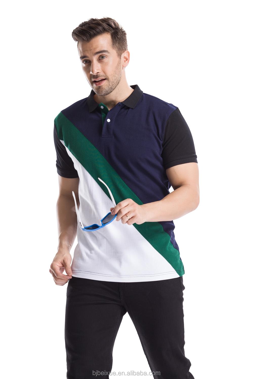 Shirt design for man 2017 - 2017 Nice New Model Polo 100 Cotton Accept Design Oem Man Polo Tshirt