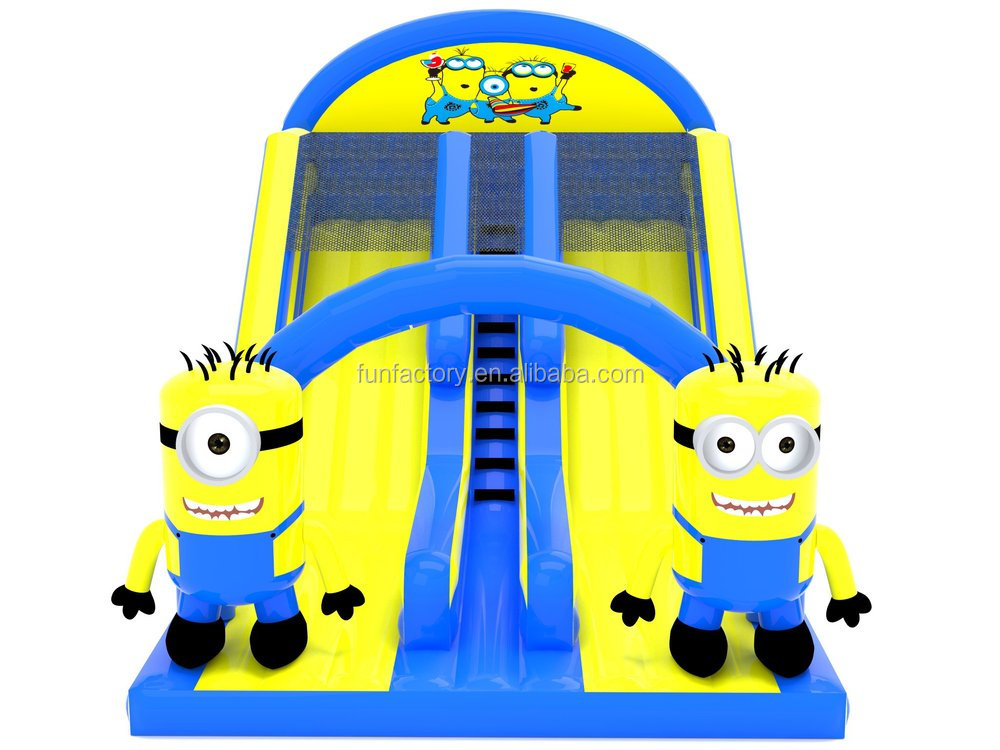 Despicable Me Inflatable Minions Slide,Christmas Inflatable Water ...