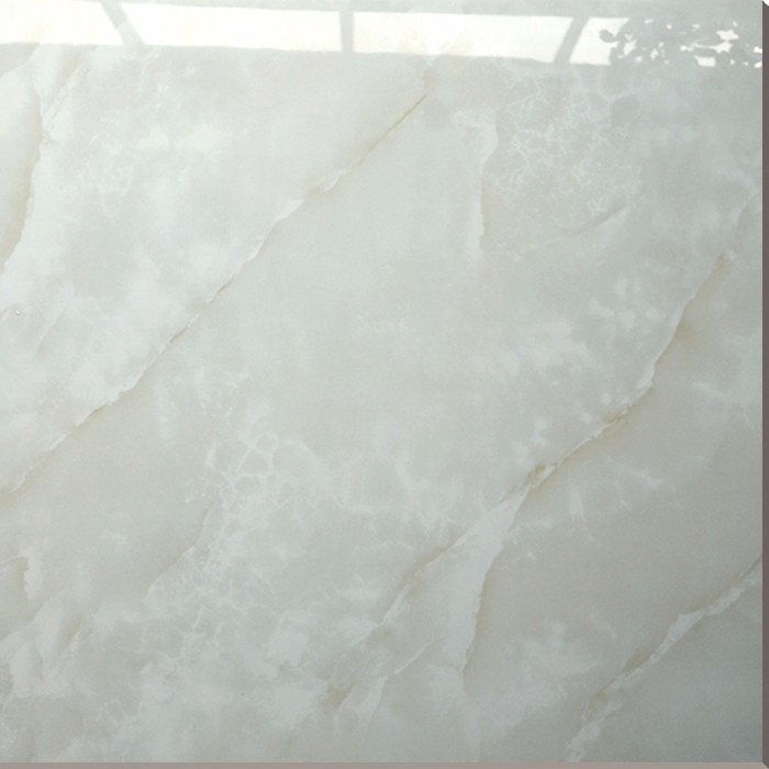 Hs627gn Building Materials White Shiny Floor Tile Super