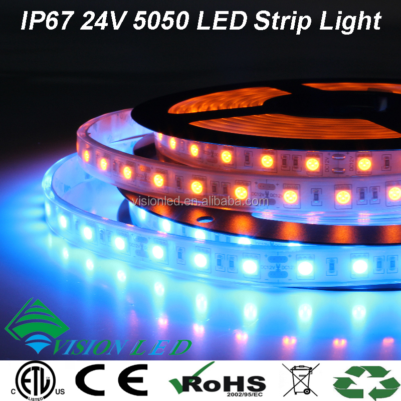 High Quality Flexible SMD LED Strip 5050 12V with ETL CE RoHS