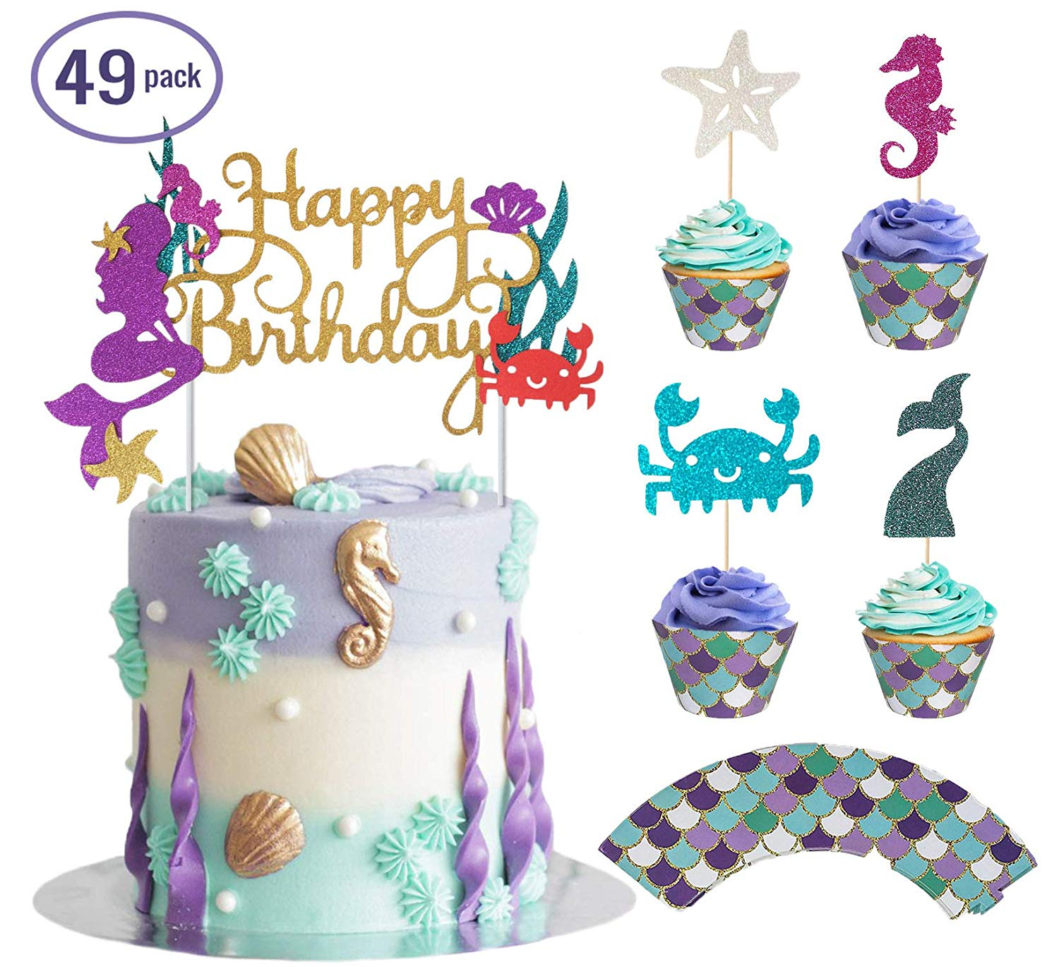 Cheap Mermaid Cake Designs Find Mermaid Cake Designs Deals On Line
