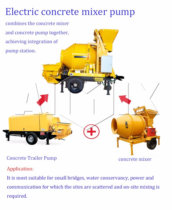 30m3/h concrete mixer truck water pump grout injection pump supplier