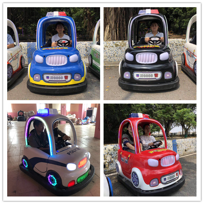 Soncu Amusement battery Jacky police car ride game  for  theme park battery ride game machine