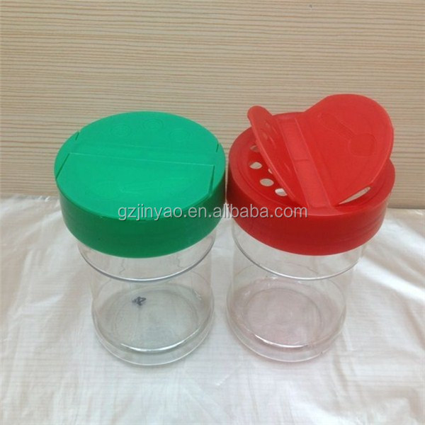 63mm plastic flip top shaking cap lid for Food, seasoning, Spice, Garlic Pepper jars and bottles