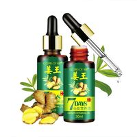 2019 Popular 100% Natural Ginger Hair Growth Essential Oil For Bald Hair Loss