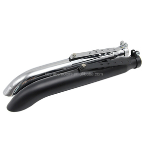Motorcycle modify Stainless steel exhaust muffler