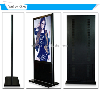 Windows Digital Signage,Mable Pedestal 55 Inch Floor Stand Ad ...
