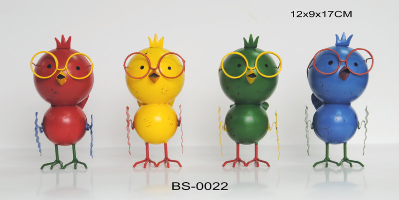 Cute Design Small Bird Design Metal Craft