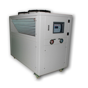 Air-Cooled Industrial inverter controlled water chiller with variable frequency for injection mould extruding Machine