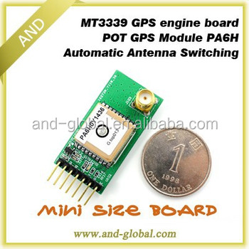 Ultimate MT3339,GPS engine board,POT gps module PA6H 1Hz,9600BPS