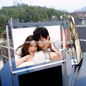 Gifts for Newly Clear Acrylic MarriedCcouple Photo Frame