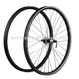 China Supplier 25*25 MTB Mountain Bike 26inch Carbon Wheels Wheelset Rims