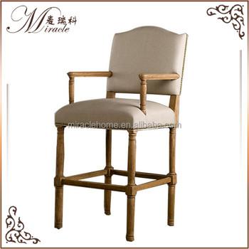 Avec Accoudoir chaise Bois Tabouret Haute Buy Fantôme De Chaise Accoudoir Bar Antique Louise En 4LAR5j