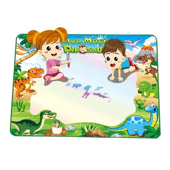 online shop diy painting dinosaur toy water doodle drawing mat for kids