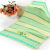 100% Natural turkey Cotton MARINA Yellow Turquoise Beach Bath Towel