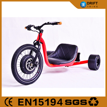 2015 hot sale Front hub width 100mm drift trike for adults