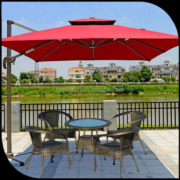 Small Order Acceptable Factory Outdoor Restaurant Umbrellas