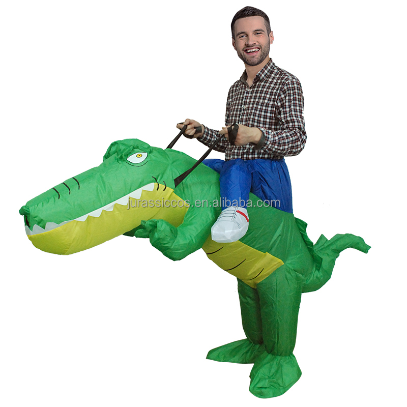 Adult Inflatable Crocodile Costume Funny Animal Cosplay Party Suit   Buy  Party Suit For Men,Animal Costume,Crocodile Inflatable Costume Product On  Alibaba. ...