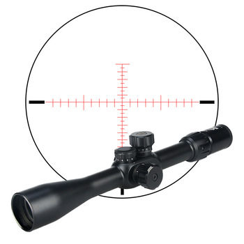 canislatrans AR 15 accessories tactical sight 6-24x42SFIRF side focus night vision rifle scope for hunting