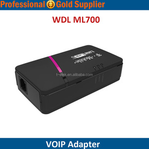Hot sale Home Phone Adapter with LAN port T-MOBILE WDL ML700 LINELINK ATA VOIP