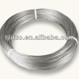Lituo high quality price per kg galvanized iron wire carbon steel wire galvanized steel wire