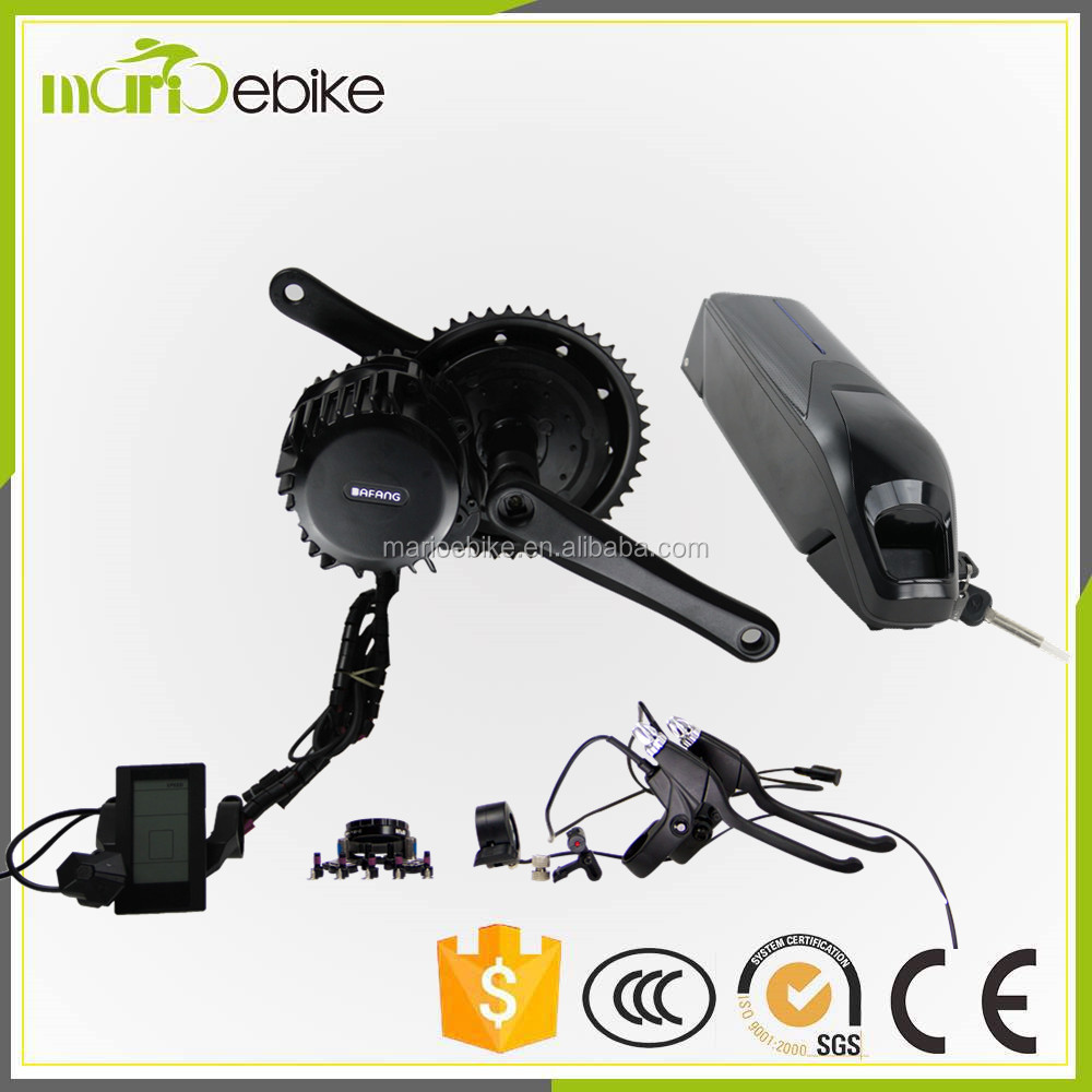 electric bike mid drive motor kit/electric tricycle conversion kit/ebike conversion kit bafang bbs 03 48v 1000w