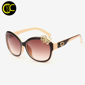2015 Women's Charming Luxury Brand Sunglasses Fashionable Sunglasses Retro Sunglasses CC0123