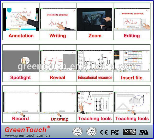 42 inch open frame multi dual IR TFT lcd Touch screen met glas