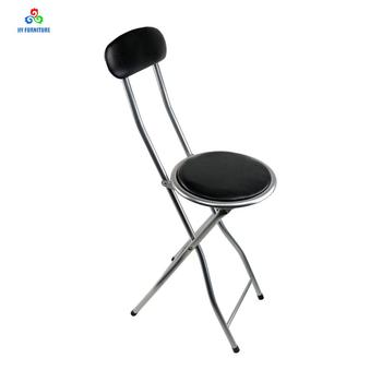Por Redondo De Mayor silla Metal Cocina Al Silla Asiento La ...