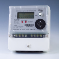 DDS8888 Single phase two wire electric smart meter active Reactive kWh power GPRS energy meter Medidor de energia