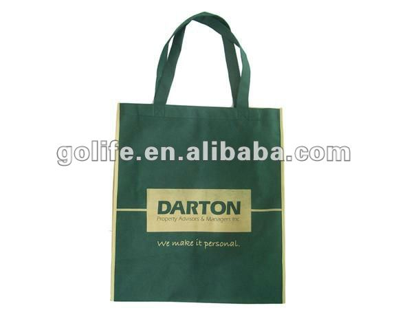 reusable tote non woven bags/2012 promotion non woven bags/beautiful non woven shopping handle bags