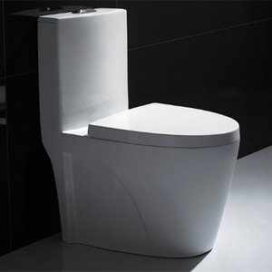 high quality dual flush one piece siphonic water closet toilet