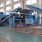 tyre shredder machines Waste tyre recycling plant in China