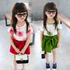 Alibaba China Frock Designs Kid Dresses Set Korea Style Flower Child Clothes For Wholesale