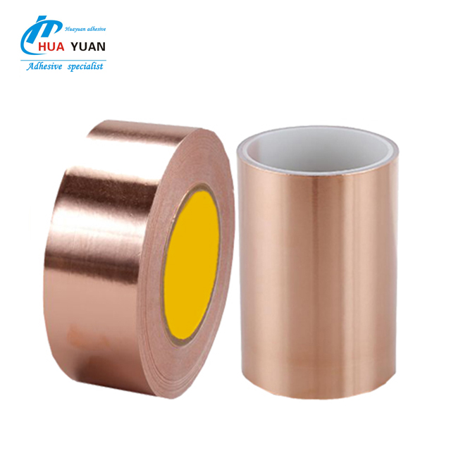 Wholesalers <strong>sample</strong> free!0.06mm*5mm*55yars EMI shielding copper stickers Conductive foil copper tape